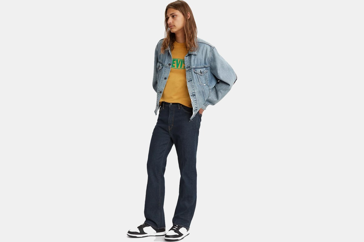 Levi's So High Bootcut Jeans in Dark Wash