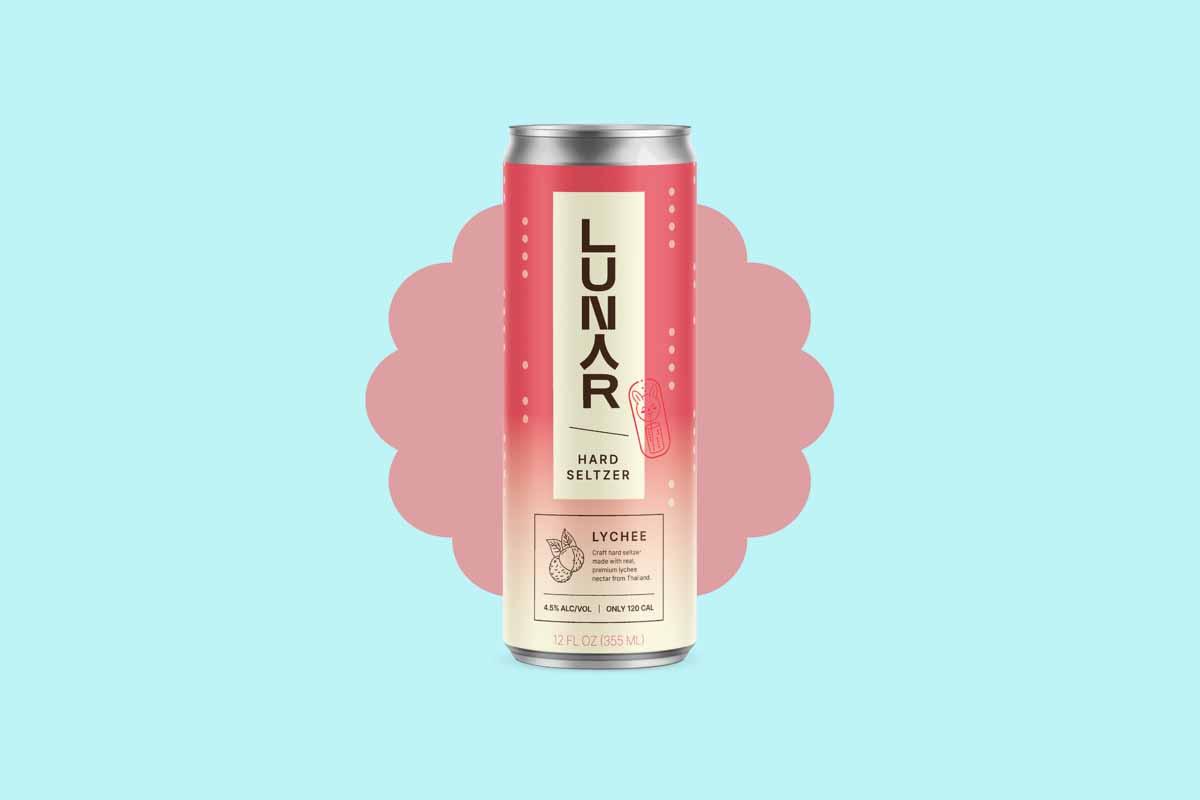 a can of Lunar hard seltzer