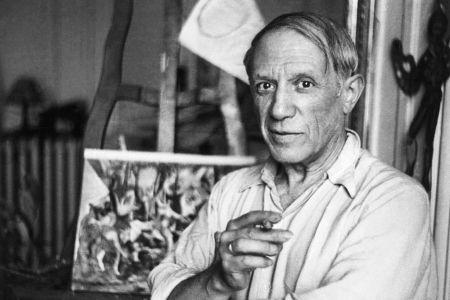 Pablo Picasso in Paris
