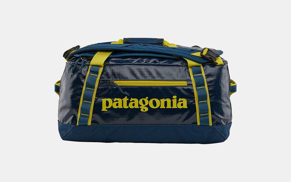 Patagonia Black Hole 40L Duffel Bag in Crater Blue