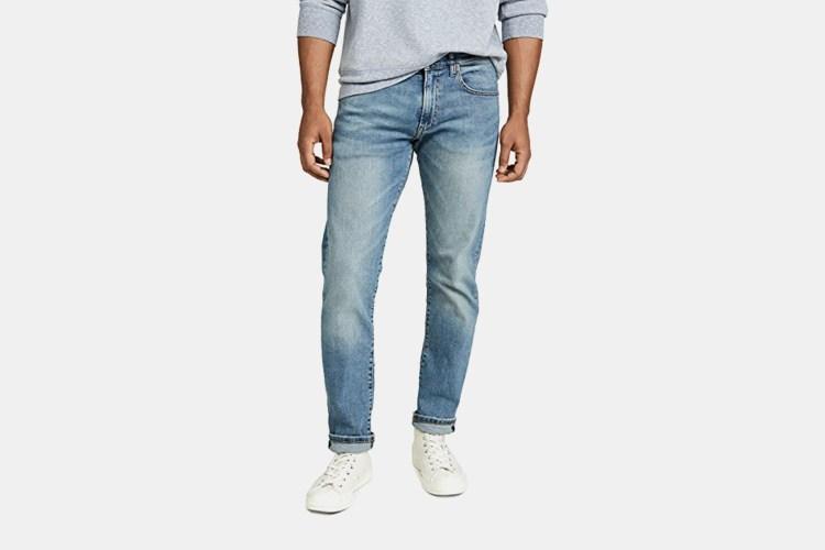 Polo Ralph Lauren Varick Slim Straight Fit Jeans in Dixon Light