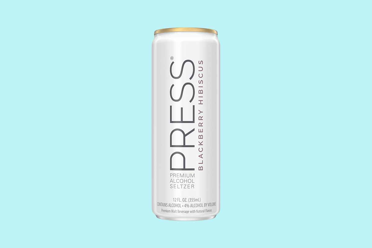PRESS canned cocktail