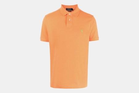Polo Ralph Lauren Orange Polo