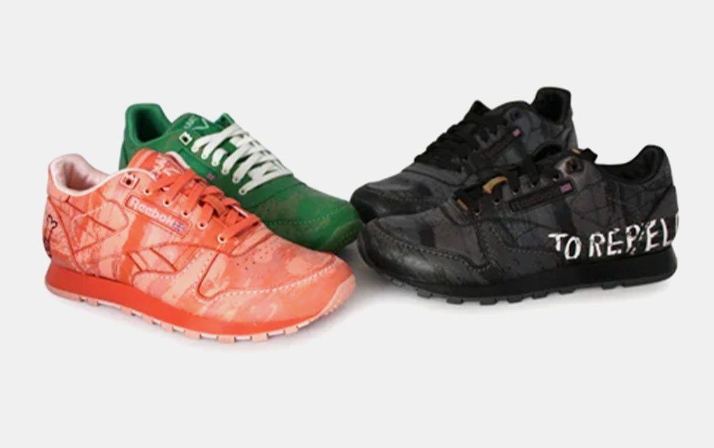 Reebok x Basquiat Classic Sneakers