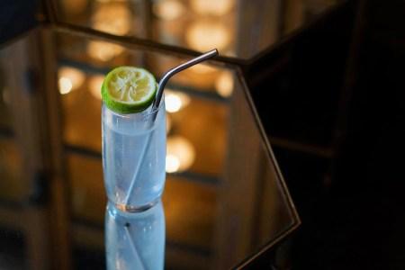 A gin rickey at the Columbia Room in Washington DC
