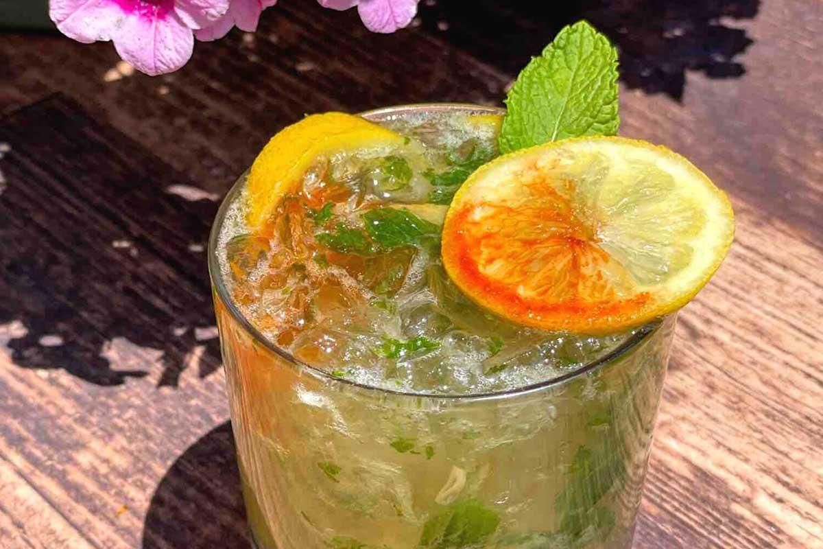 Rum julep by Montanya Distillers