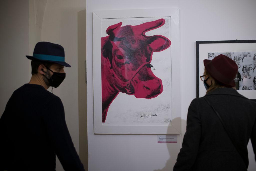 "Andy Warhol's ""Cow"""