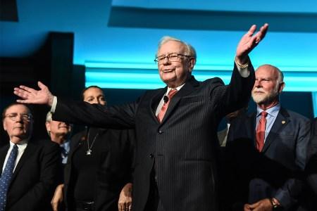 Warren Buffett at the Forbes Media Centennial Celebration in New York City in 2017