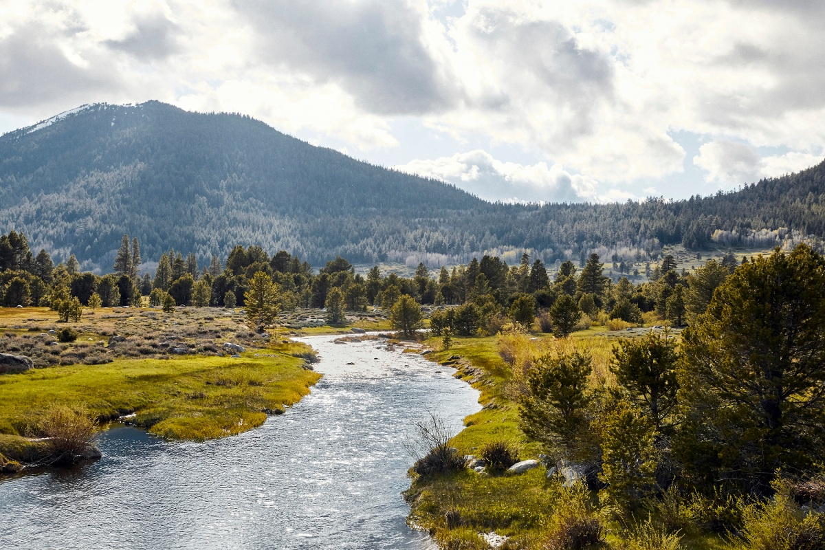 The new Wylder Hope Valley is set on a postcard backdrop in the high Sierras