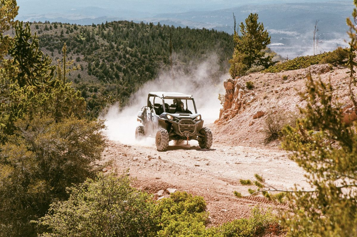 A Can-Am Commander is put to the test in Zion National Park.