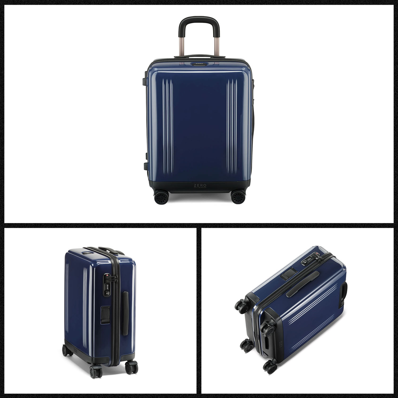 The Zero Halliburton Edge Lightweight Brilliant Continental Carry-On case