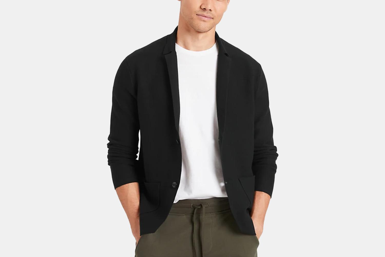A sweater-blazer hybrid