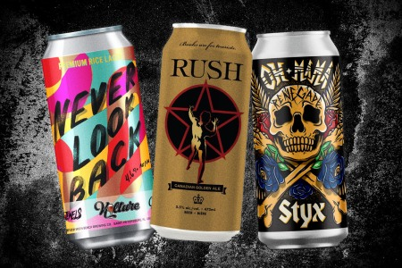 Run the Jewels, Rush and Styx are just some of the bands with their own brews.