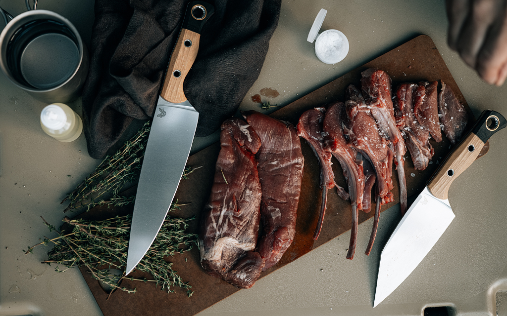 Benchmade's new cutlery collection features three stunning kitchen knives