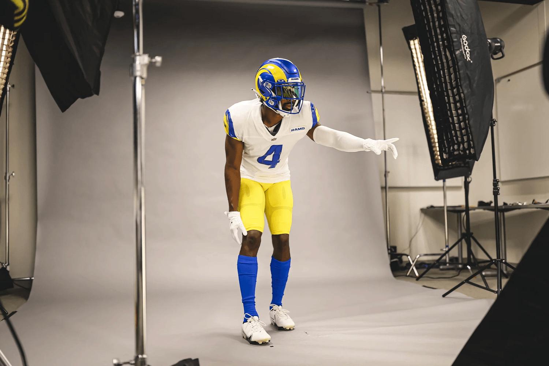 Los Angeles Rams 2021 uniforms