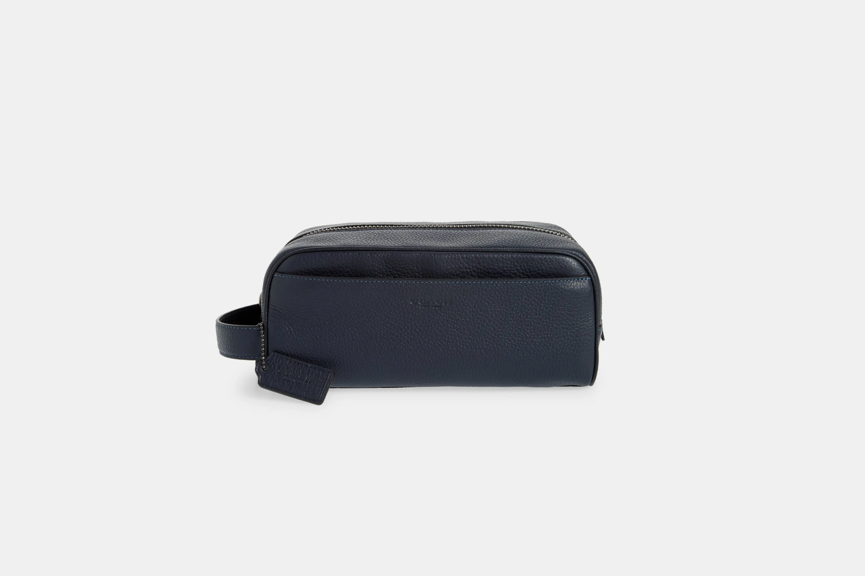 Coach Pebbled Leather Dopp Kit