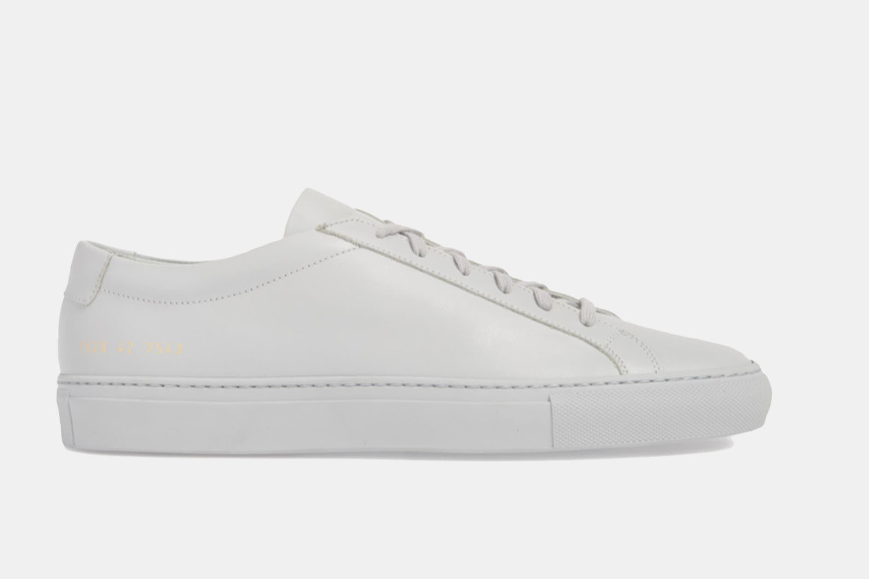 An all grey sneaker.