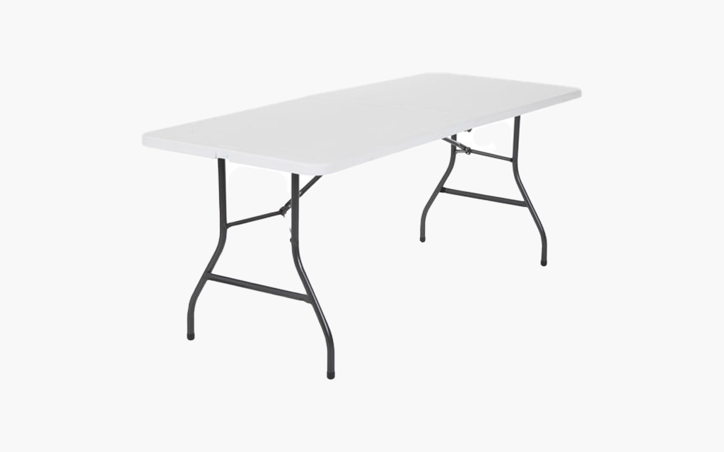 Cosco 6-Foot Centerfold Folding Table