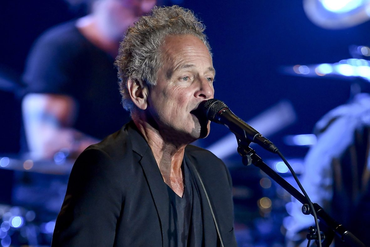 Lindsey Buckingham performs at the Palace of Fine Arts Theatre on October 9, 2018 in San Francisco, California.