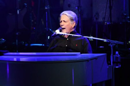 Brian Wilson performs onstage during the Something Great from '68 Tour at The Greek Theatre on September 12, 2019 in Los Angeles, California.