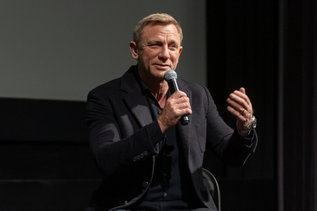 Daniel Craig attends The Museum of Modern Art Screening of Casino Royale at MOMA in 2020. The actor says James Bond shouldn't be played by a woman, though in the context of women should be getting their own and better roles.