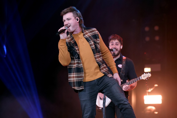Country musician Morgan Wallen performs onstage at the Ryman Auditorium on January 12, 2021 in Nashville, Tennessee