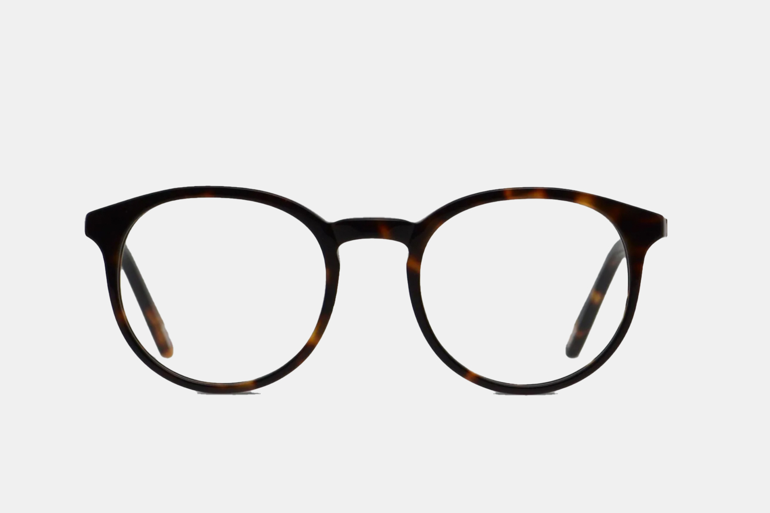 A pair of glasses frames.