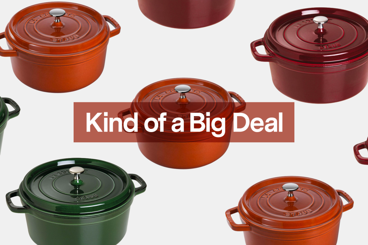 Get This Autumnal Staub Cast Iron Cocotte for 50% Off