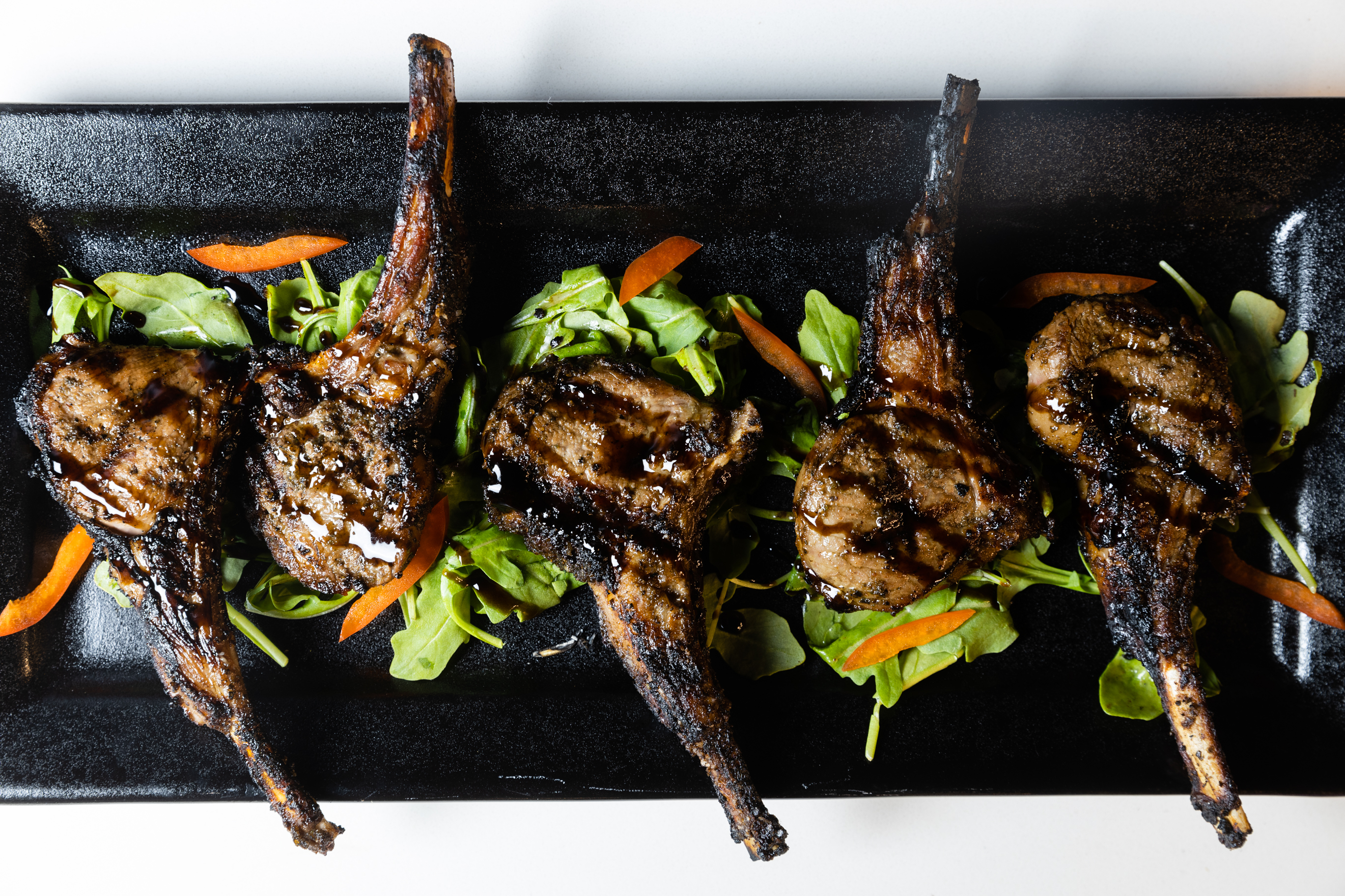 The lamb chops at Fame in River North