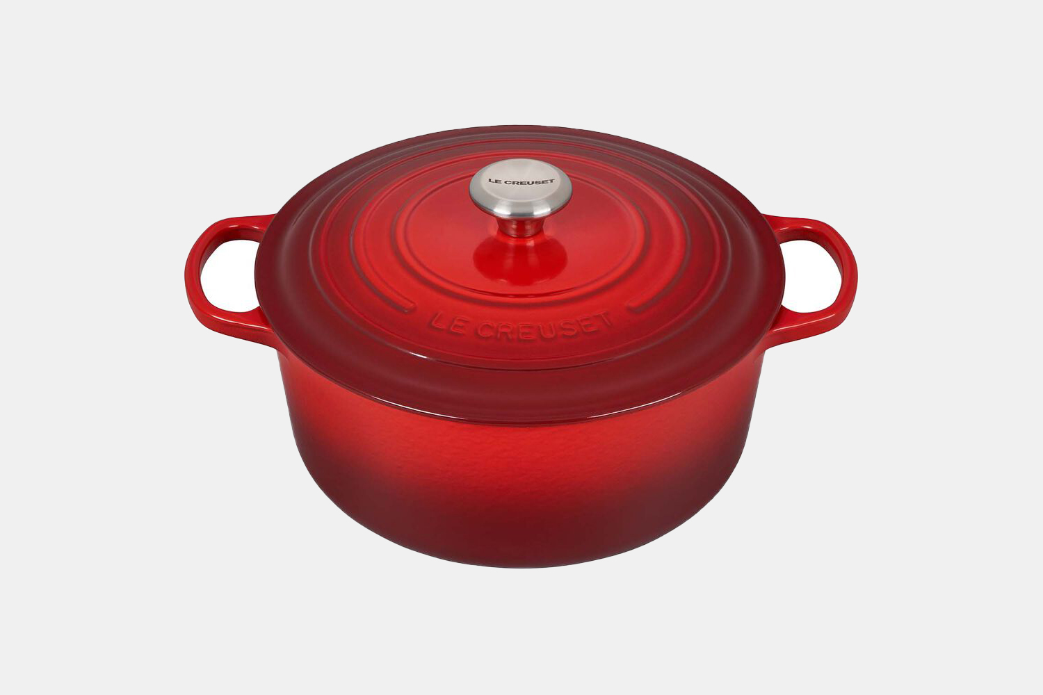 A red dutch oven