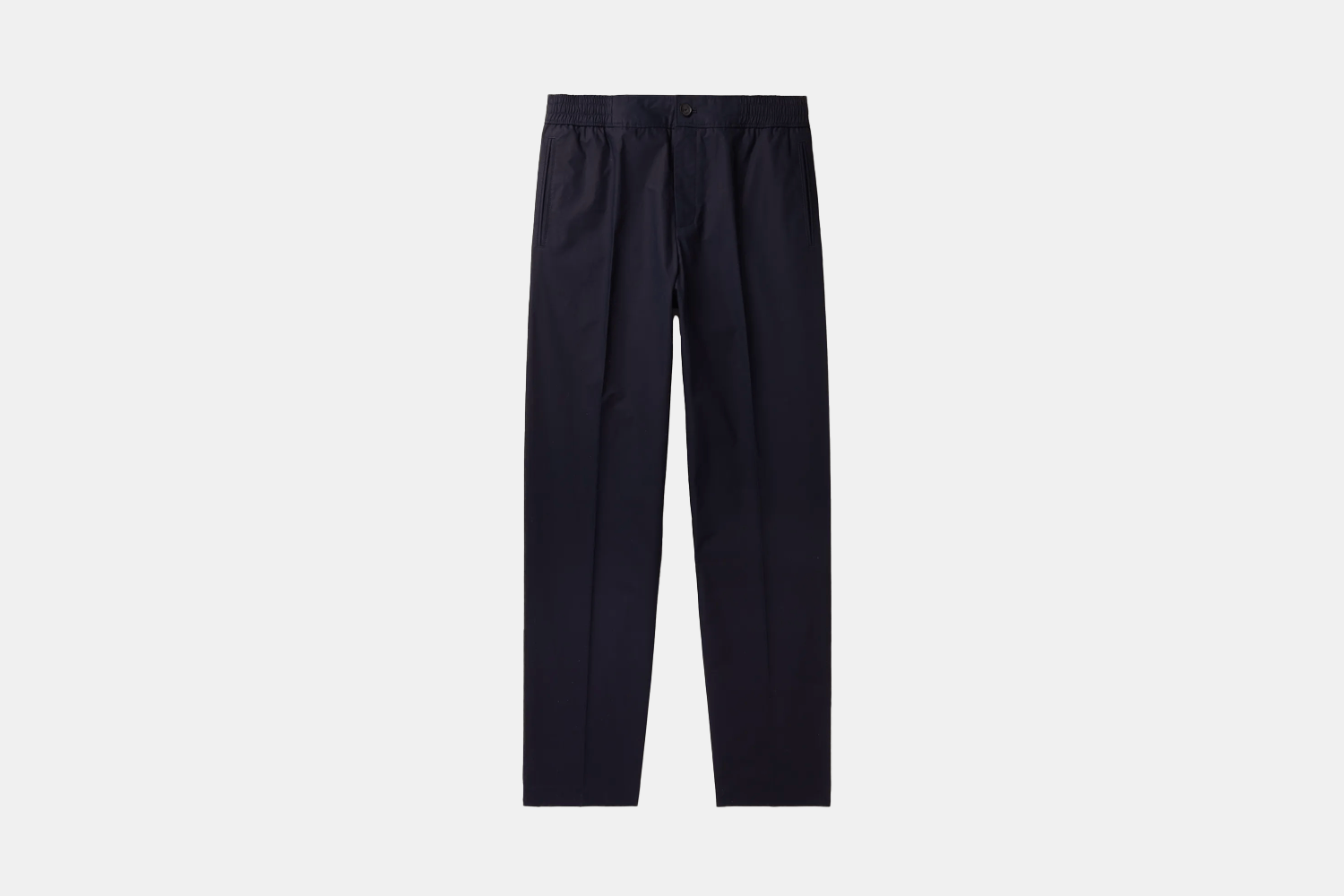 Relaxed Cotton Elasticated Trousers