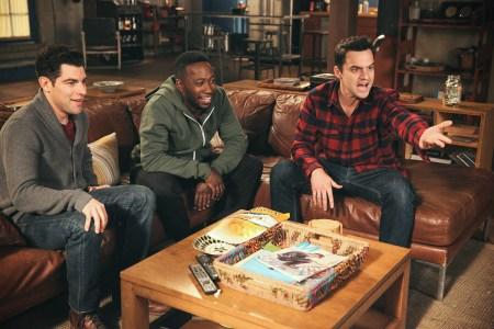 "Schmidt, Winston and Nick on ""New Girl."""