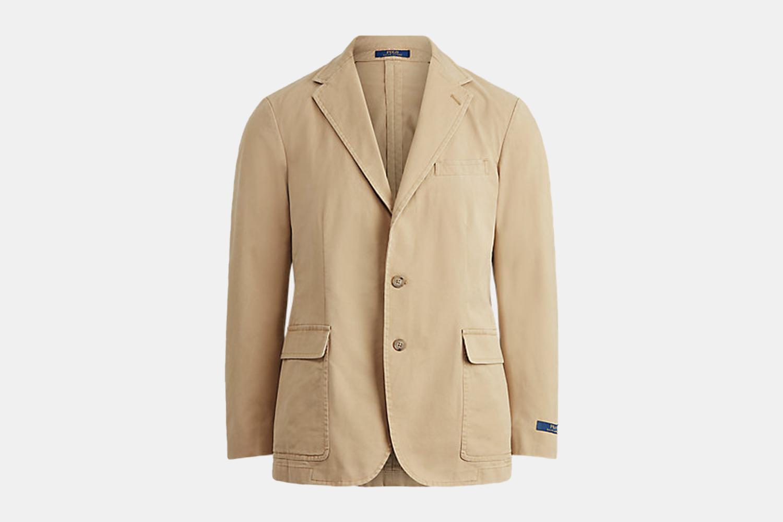 A tan jacket