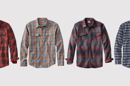Shop L.L. Bean's collection of fall flannels