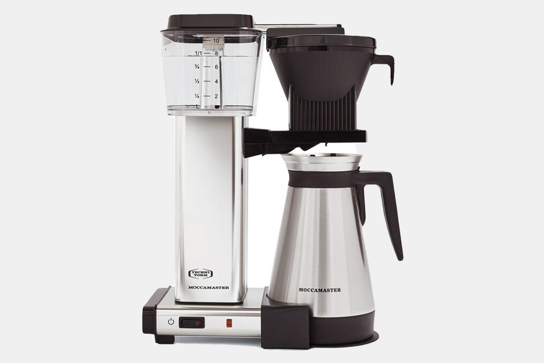 a high tech coffee maker.