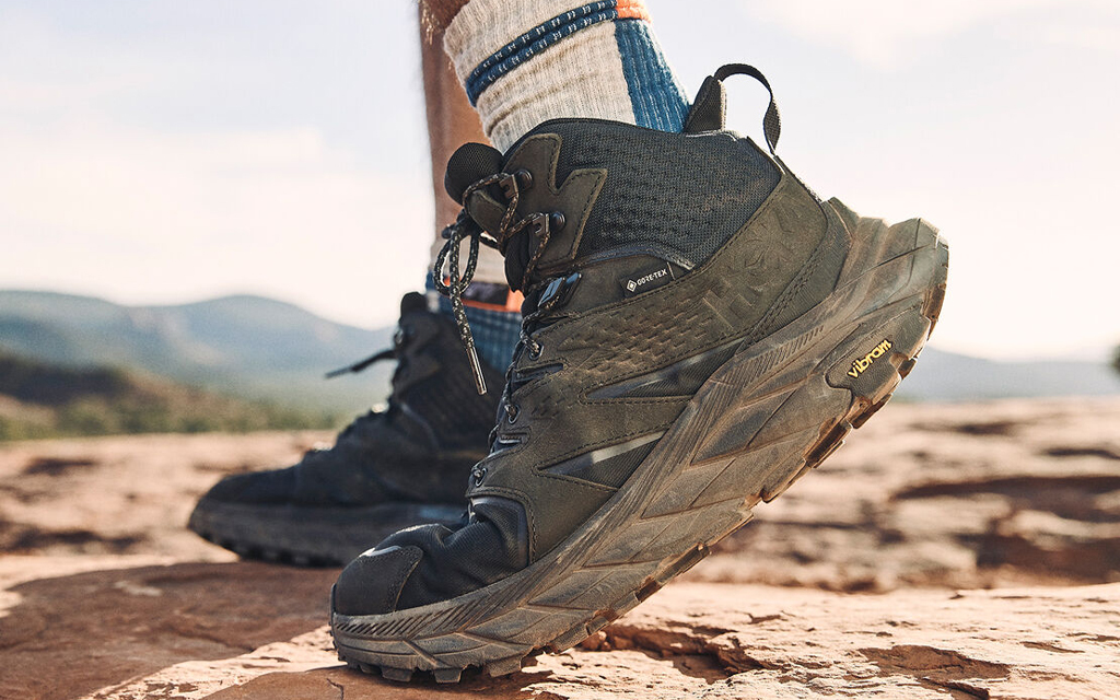 The Hoka One One Anacapa Mid offers superior comfort and protection