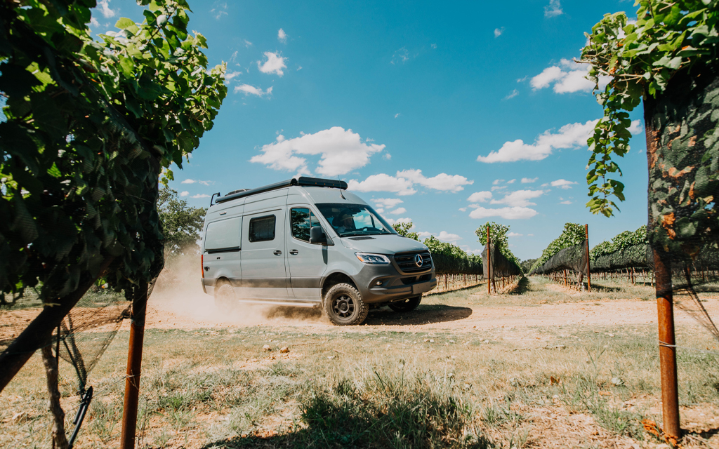 When you can't justify the commitment to van life, rent one with Outdoorsy