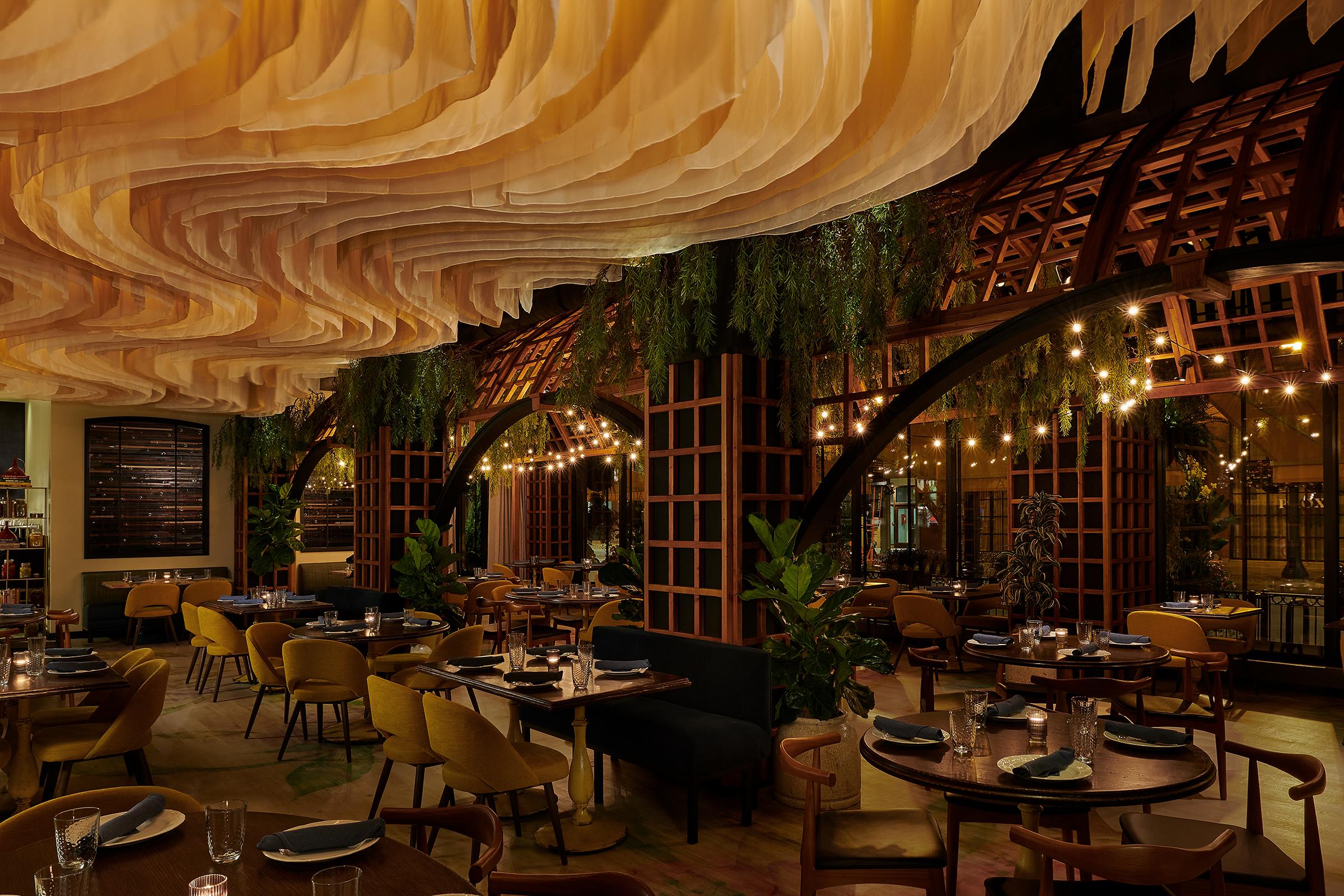The dining room at All Vita
