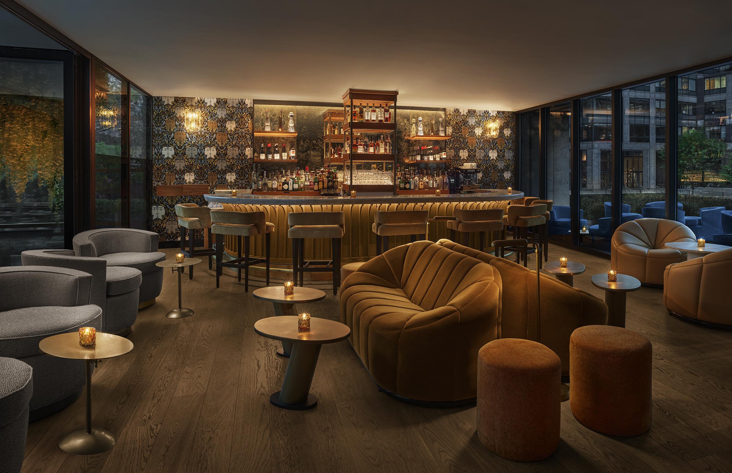 The Signature Room, a bar inside Veranda, the restaurant at the ModernHaus Soho
