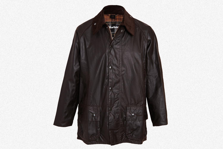 Barbour Beaufort Wax Jacket in Rustic