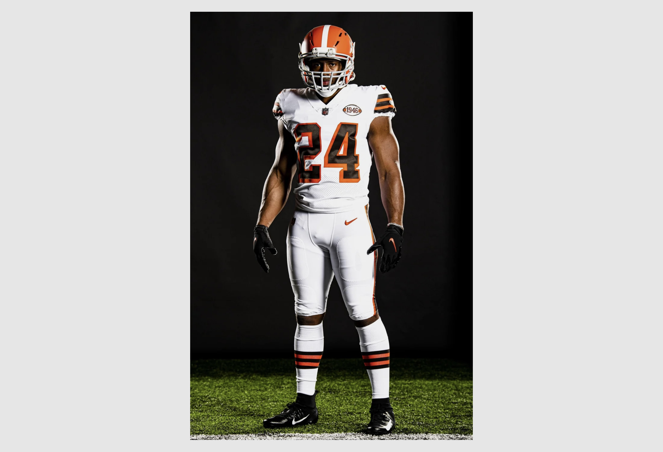 cleveland browns new uniforms 2021