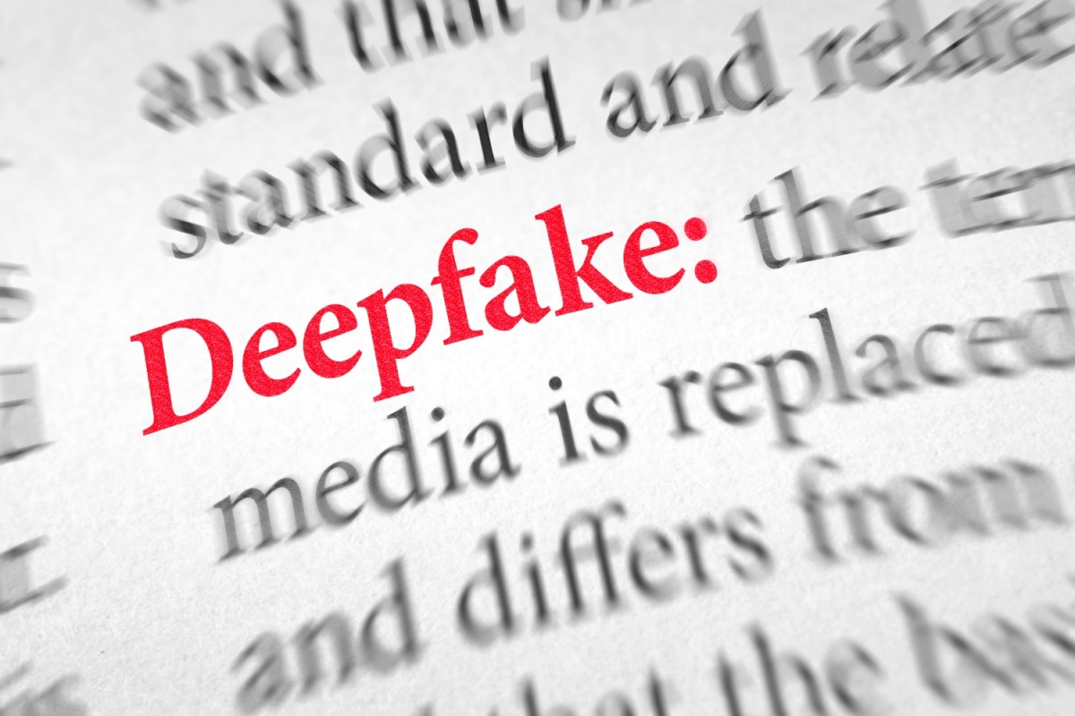 Definition of the word Deepfake in a dictionary - it's become much easier to use the tech to create some unsettling porn