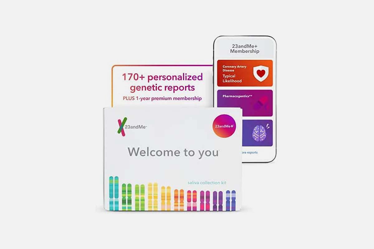 23andMe+ Premium Membership Bundle, now on sale at Woot