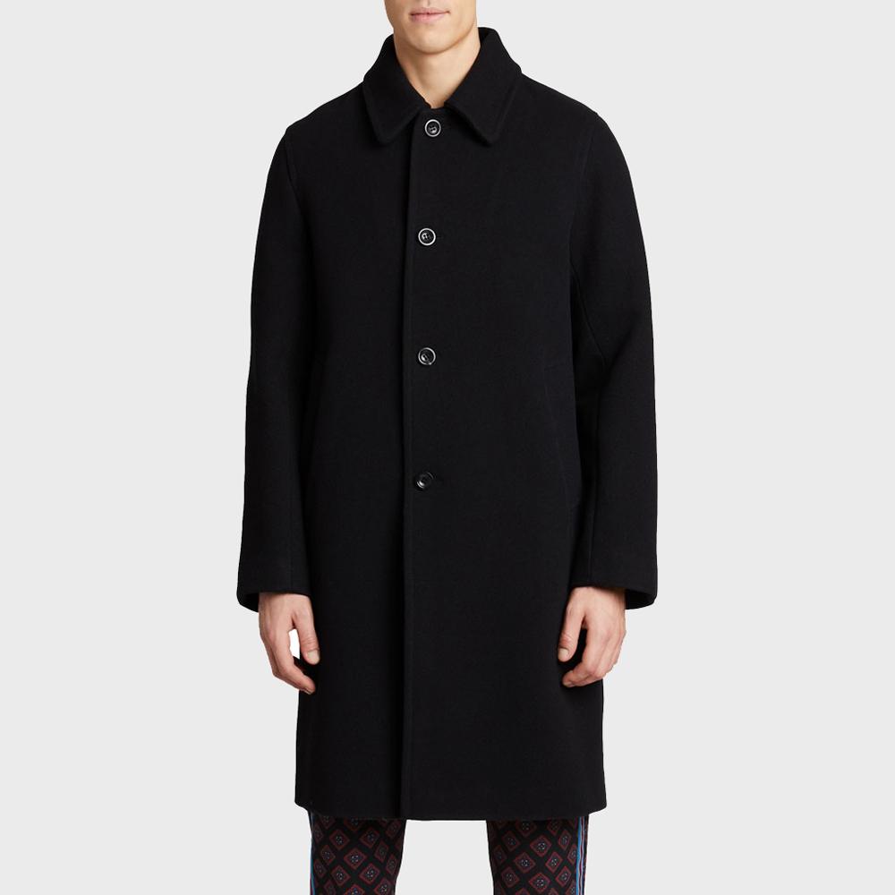 Dries Van Noten Rovey Wool Coat