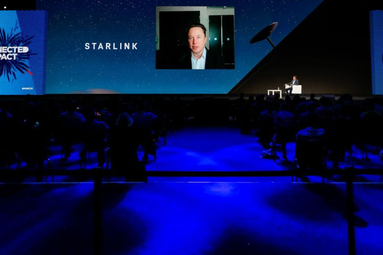 Elon Musk talks Starlink