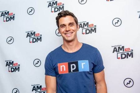 Antoni Porowski of Queer Eye fame attends a press event.