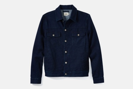 Flint and Tinder's trucker jacket is on sale.