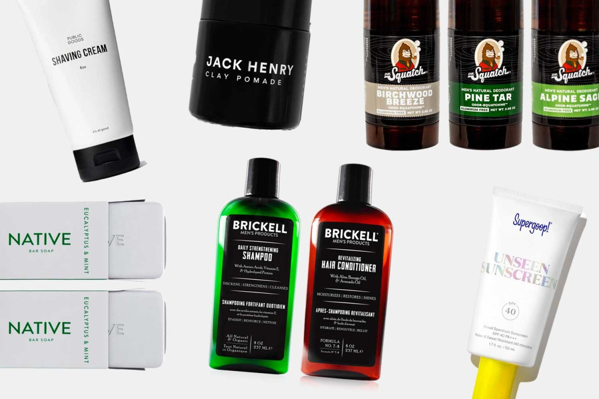 A Guide to Natural Grooming Products for Men