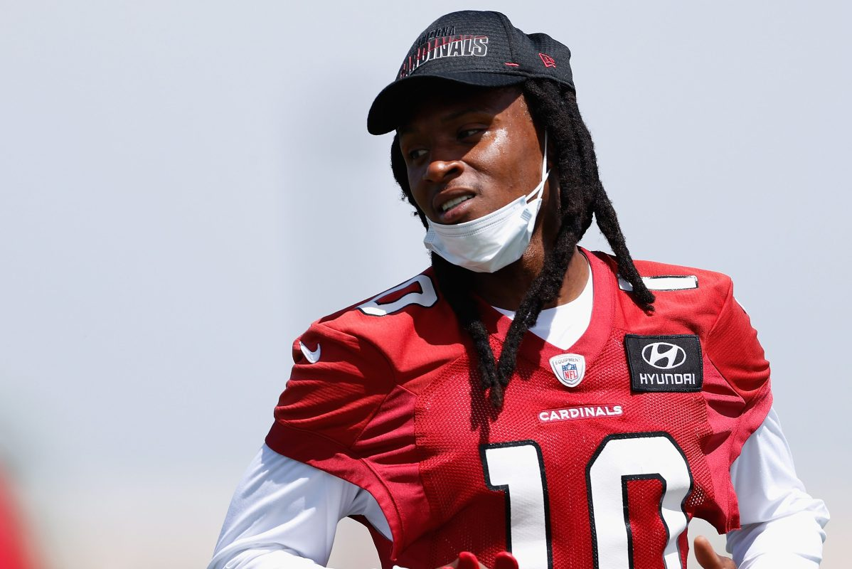 DeAndre Hopkins of the Arizona Cardinals previously spoke out against the vaccine