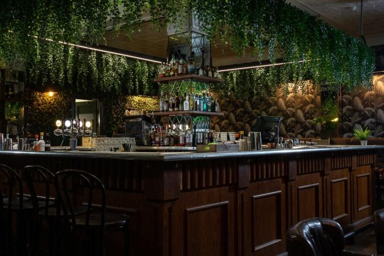 Inside Jungle, a popular bar in Reykjavik